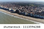 aerial photo knokke heist city... | Shutterstock . vector #1113596288