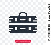 briefcase vector icon isolated...   Shutterstock .eps vector #1113601316