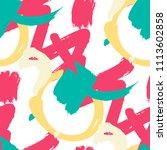 brush strokes. seamless texture ... | Shutterstock .eps vector #1113602858