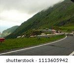 carpathian mountains  romania   ...   Shutterstock . vector #1113605942