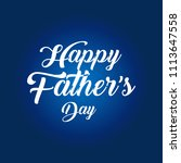 father's day vector   Shutterstock .eps vector #1113647558