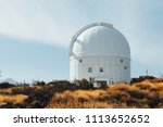 teide observatory astronomical... | Shutterstock . vector #1113652652