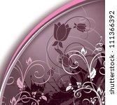 floral design.   Shutterstock .eps vector #111366392