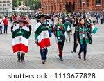moscow  russia   june  2018 ... | Shutterstock . vector #1113677828