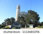 coit tower in san francisco | Shutterstock . vector #1113681056