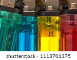 colorful plastic gas lighter.... | Shutterstock . vector #1113701375