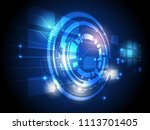 abstract modern digital high... | Shutterstock .eps vector #1113701405