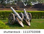 Old Cannon  Kittur Fort Comple...