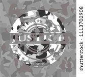 justice on grey justice... | Shutterstock .eps vector #1113702908