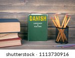 danish language and culture... | Shutterstock . vector #1113730916