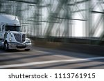 morning star silver big rig... | Shutterstock . vector #1113761915