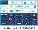 business inforgraphic design... | Shutterstock .eps vector #1113763805