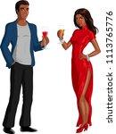 vector illustration of a... | Shutterstock .eps vector #1113765776