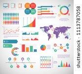 charts vector illustrator | Shutterstock .eps vector #1113787058