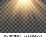 light flare special effect with ...   Shutterstock .eps vector #1113866006