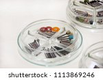 dental drill burs. dental...   Shutterstock . vector #1113869246