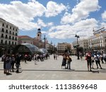 madrid   spain   06 13 2018 ... | Shutterstock . vector #1113869648