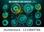 sci fi futuristic hud dashboard ...