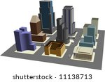 illustration of 3d view of 9... | Shutterstock .eps vector #11138713