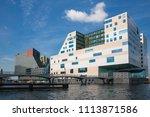 amsterdam  the netherlands  ... | Shutterstock . vector #1113871586