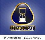 golden emblem shiny emblem... | Shutterstock .eps vector #1113875492