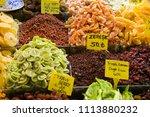 spices in instabul market turkey | Shutterstock . vector #1113880232