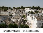 traditional houses in... | Shutterstock . vector #1113880382