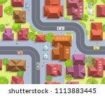 seamless pattern cityscape. ...