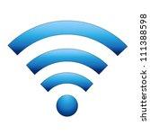 vector wireless icon | Shutterstock .eps vector #111388598
