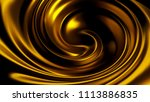 luxury beautiful splash of gold ... | Shutterstock . vector #1113886835