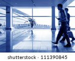 interior of the shanghai pudong ... | Shutterstock . vector #111390845