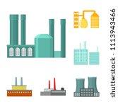 factory and facilities cartoon...   Shutterstock .eps vector #1113943466