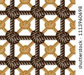 rope seamless pattern  trendy... | Shutterstock . vector #1113960698