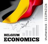 belgium economics vector... | Shutterstock .eps vector #1113962126