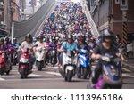 taipei  taiwan   june 13  2018  ... | Shutterstock . vector #1113965186