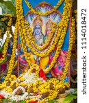 karnataka  india november 15th... | Shutterstock . vector #1114018472