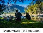 carretera austral   patagonia   ... | Shutterstock . vector #1114022306