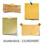 collection of various vintage... | Shutterstock . vector #1114024685