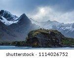 jason harbor  south georgia... | Shutterstock . vector #1114026752