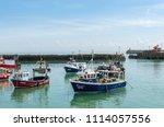 folkestone  kent  england  ...   Shutterstock . vector #1114057556