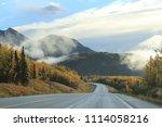 road trip through scenic ak 1... | Shutterstock . vector #1114058216