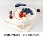 large bowl of tasty and healthy ... | Shutterstock . vector #1114066928
