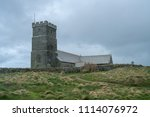 Norman Style Church At Tintagel ...
