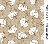 seamless floral pattern with... | Shutterstock .eps vector #111416852