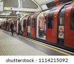 london  uk   circa june 2018 ...   Shutterstock . vector #1114215092