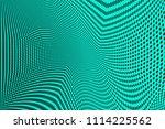 light green halftone pattern.... | Shutterstock .eps vector #1114225562