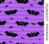 abstract seamless halloween... | Shutterstock . vector #1114248722