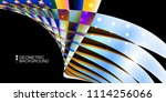 geometric abstract background...   Shutterstock .eps vector #1114256066