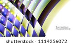 geometric abstract background...   Shutterstock .eps vector #1114256072