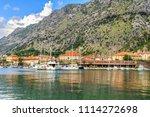 adriatic sea coastline  view to ... | Shutterstock . vector #1114272698